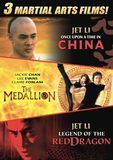Once Upon a Time in China/The Medallion/Legend of the Red Dragon [3 Discs] [DVD]