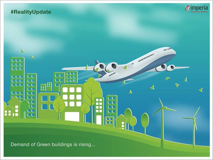 #RealityUpdate :- Demand of #Greenbuildings is rising and It will be triple in India by 2020: At present, India accounts for 10-12% of global space under green buildings at present and that puts India in the 3rd position outside United States in the world, next to Canada and China - Read more https://goo.gl/dQnC3g
