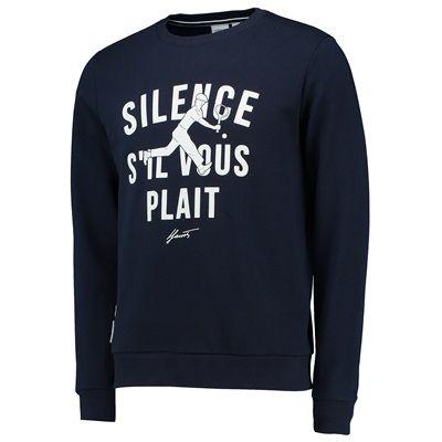 Roland-Garros Lacoste Sweatshirt - Navy/White