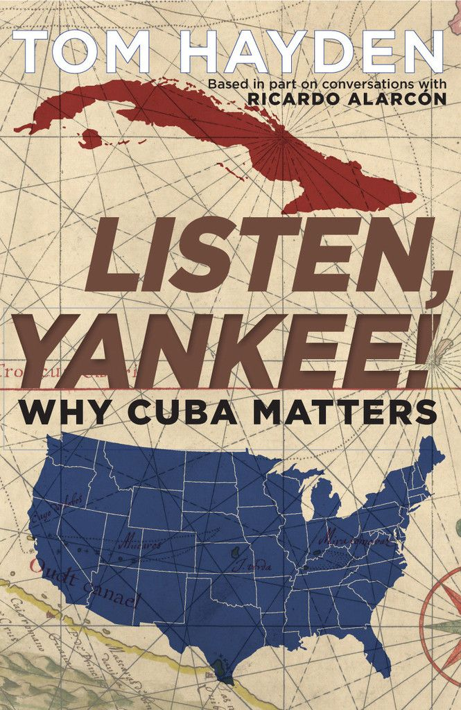 "Democracy Now! speaks to Tom Hayden, author of the new book, ""Listen, Yankee!: Why Cuba Matters."" He argues the United States and Cuba have much more in common than a 55-year disagreement. The book is based in part on conversations with Ricardo Alarcón, the former foreign minister of Cuba and past president of the Cuban National Assembly. A longtime activist, Hayden was one of the founders of Students for a Democratic Society and later a California state senator. Watch at democracynow.org."