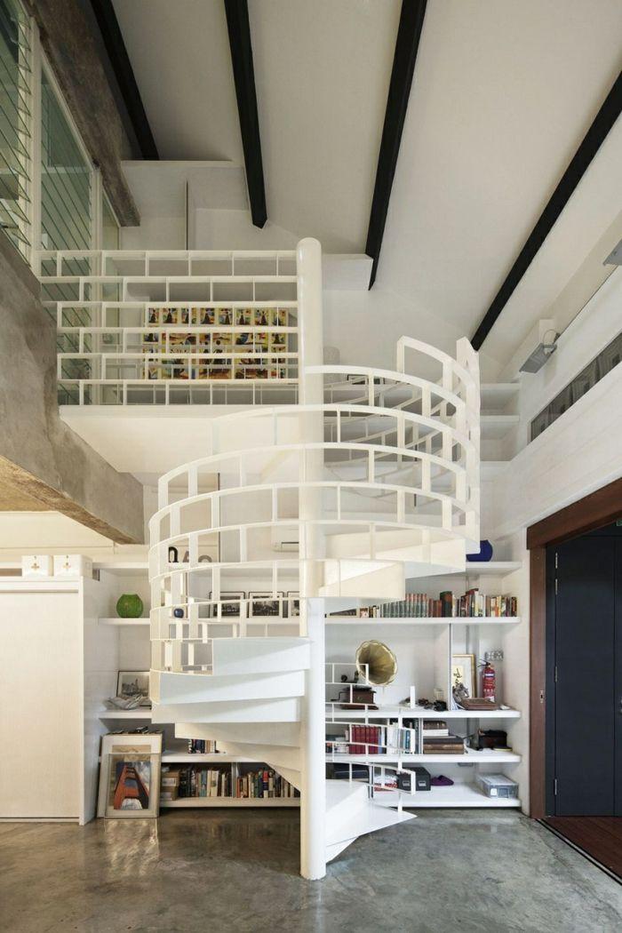 M s de 25 ideas incre bles sobre escalera de biblioteca en - Escaleras para bibliotecas ...
