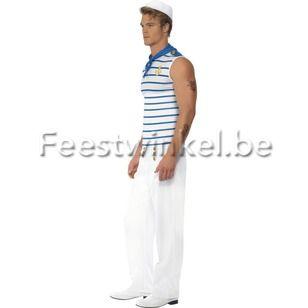 Kostuums: Fever Matroos/Marine heer
