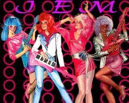 Jem!80S, Comics Book, Halloween Costumes, Childhood Memories, Group Costumes, Blue Hair, Memories Lane, Eat, Hologram