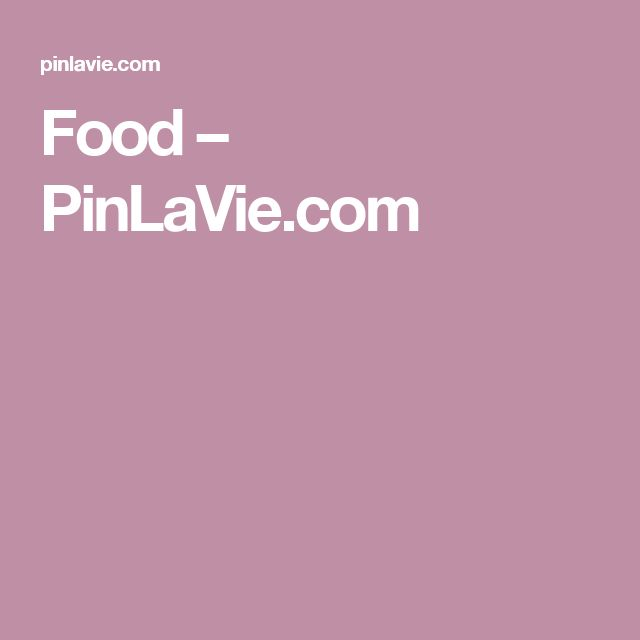 Food – PinLaVie.com