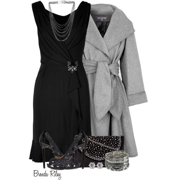 """Wrap it Up in the LBD!"" by brendariley-1 on Polyvore"