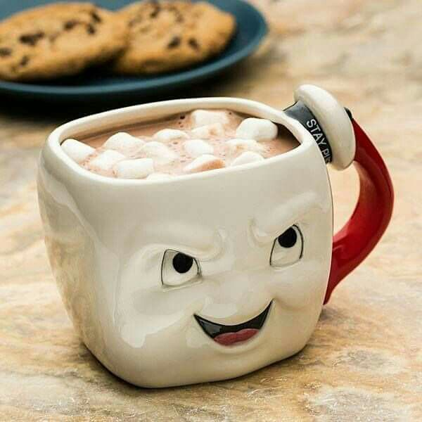 Ghost Busters Marshmallow Man Mug