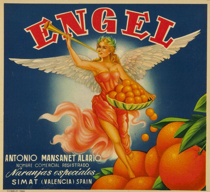 Engel : Antonio Mansanet Alario ... : naranjas especiales Simat (Valencia). Entre 1950 y 1975