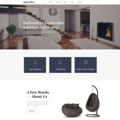 Website Template #Interior#Template#Website ...