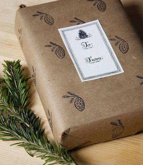 Holiday Gift Tag Freebie | Design*Sponge