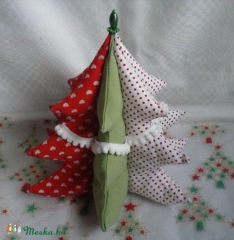 Karácsonyfa asztali dísz (Teafa) - Meska.hu