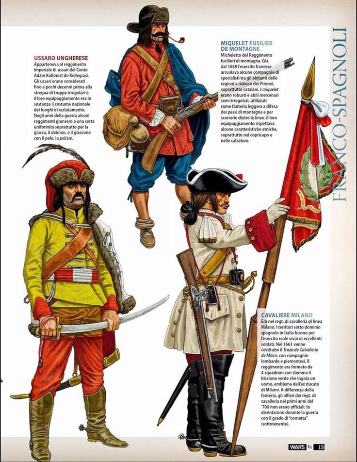 1689 - Miquelet o Fuseller de Muntanya. Principat de Catalunya.