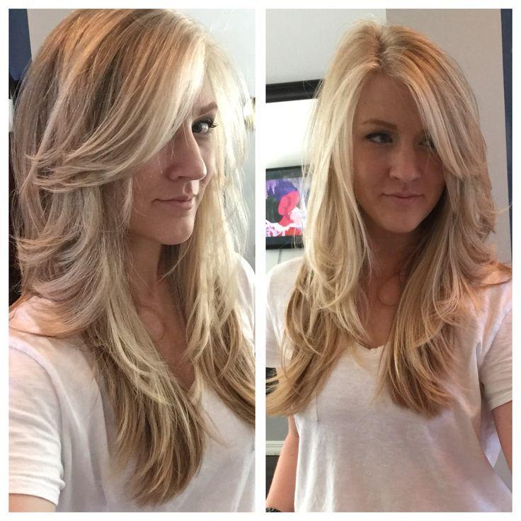 45++ Long haircuts layers and side bangs ideas