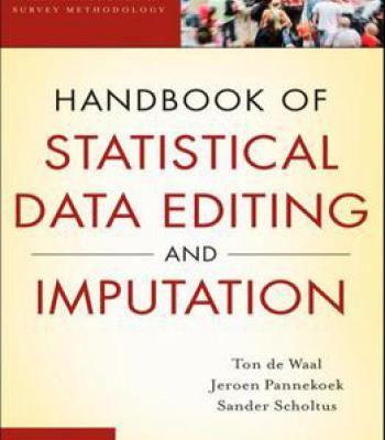 Handbook Of Statistical Data Editing And Imputation PDF