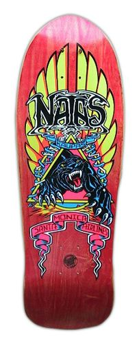 My first pro deck, battled to decide between this and the Grosso acid tongue... Natas prevailed and I ended up owning 2 of these.