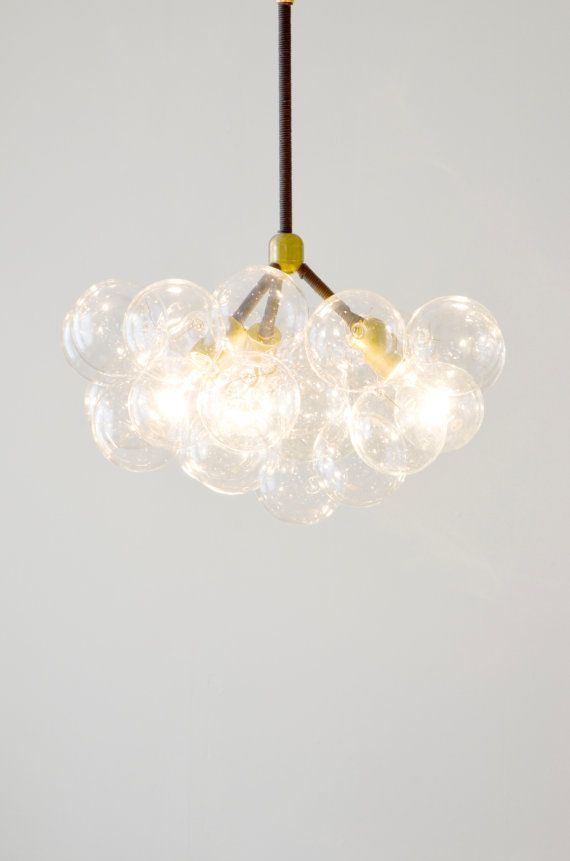 The twenty one bubble chandelier chic modern by thelightfactory