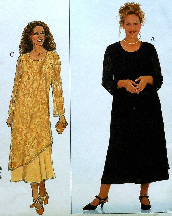 Sewing for mature rectangle figure — 12