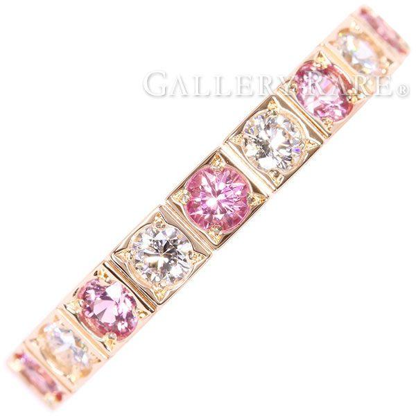 カルティエ リング ラニエール ピンクサファイア ダイヤモンド K18PGピンクゴールド B4070500 リングサイズ50 Cartier 指輪 ジュエリー
