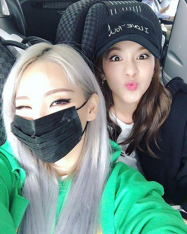 2NE1´s CL y Sandara