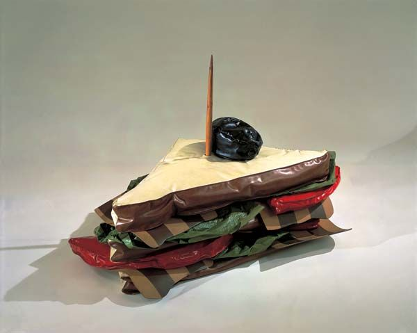 Claes Oldenburg - Wonderful show at MoMA about his early work.