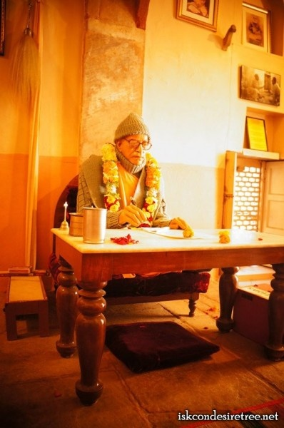 Sri Vrindavan Dham, my guru! Jay Prabhupada!