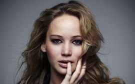 Download Jennifer Lawrence Face Shot Widescreen & HD Wallpapers From High Quality Resolution
