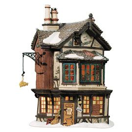 "Department 56: Products - ""Ebenezer Scrooge's House"" - View Lighted Buildings    Mom already has this."