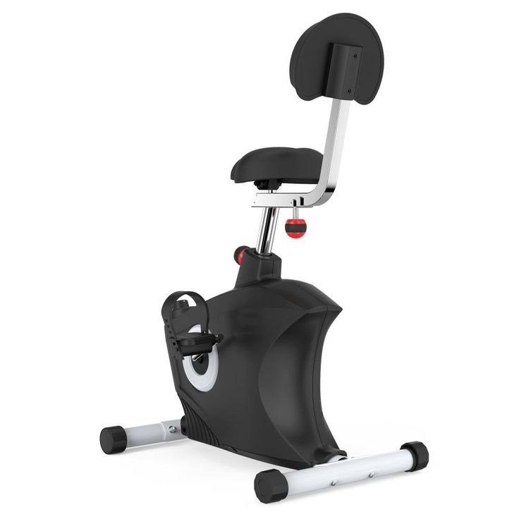 SereneLife Exercise Bike Home/Office Exercise Bike   Under Desk Bicycle  Pedaling Fitness Machine.
