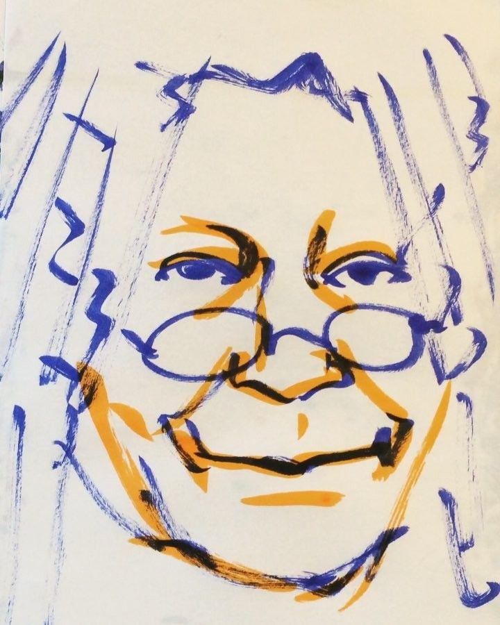 いいね!35件、コメント1件 ― @1mindrawのInstagramアカウント: 「#whoopigoldberg #ウーピーゴールドバーグ #actress #女優 #comedienne #コメディエンヌ #19551113 #birthday #1mindraw…」