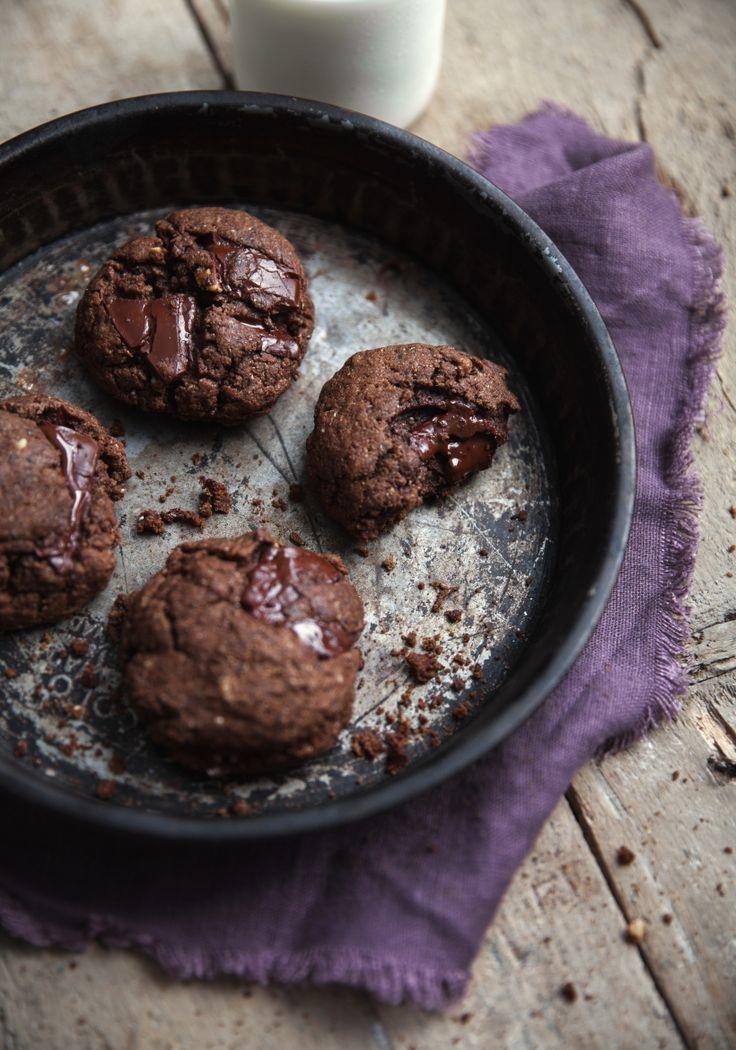 Biscuits au chocolat à la fleur de sel