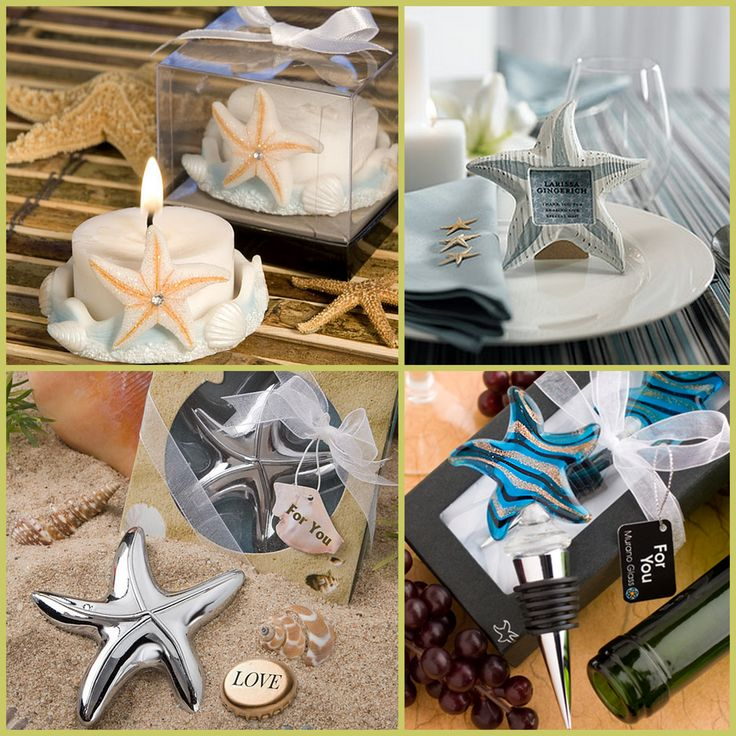 Starfish Party Favors from HotRef.com