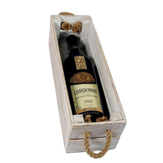 Skrzynka drewniana na wino i nie tylko. - marka LAAU - Skrzynki i pudełka