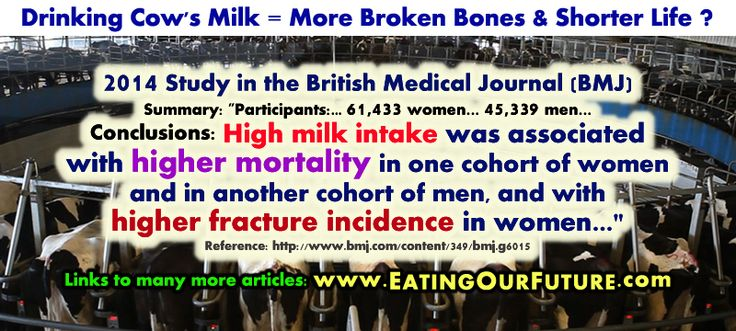Best Vegan Vegetarian Health Diet Meme Memes British Scientific Medical Journal BMJ Science Study Quotes Facts Problems anti drink ditch dairy cow's cow milk more broken bones bone fractures shorter life bad good unhealthy not healthy dangers benefits disease risks