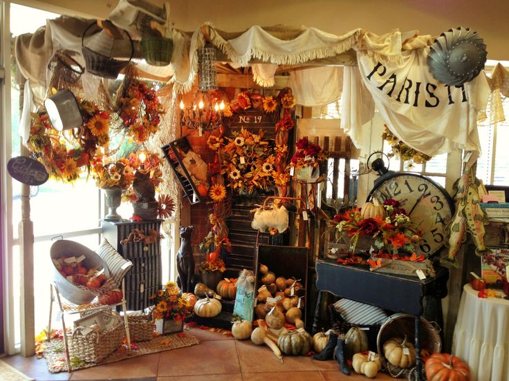 94 best fall in love retail inspirations images on for Retail decorating ideas