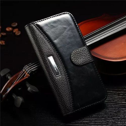 Business Classic Wallet Case Cover For Apple iPhone 4 - 7 Plus