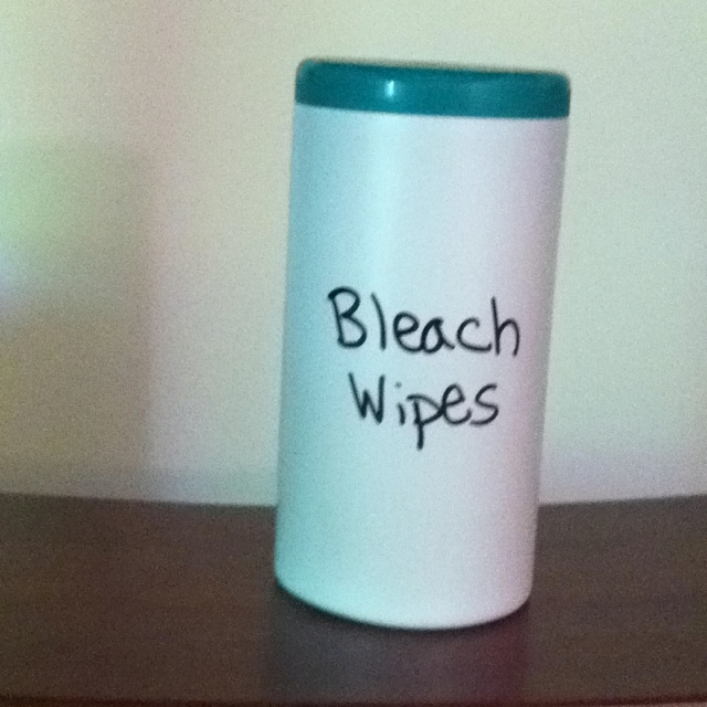 Homemade bleach wipes (With images) Homemade bleach