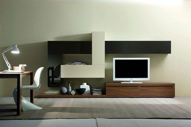 17 mejores ideas sobre muebles para tv modernos en for Muebles escandinavos modernos