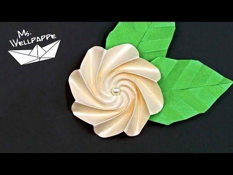 Blumen Basteln Mit Papier Schöne Deko Selber Machen Diy