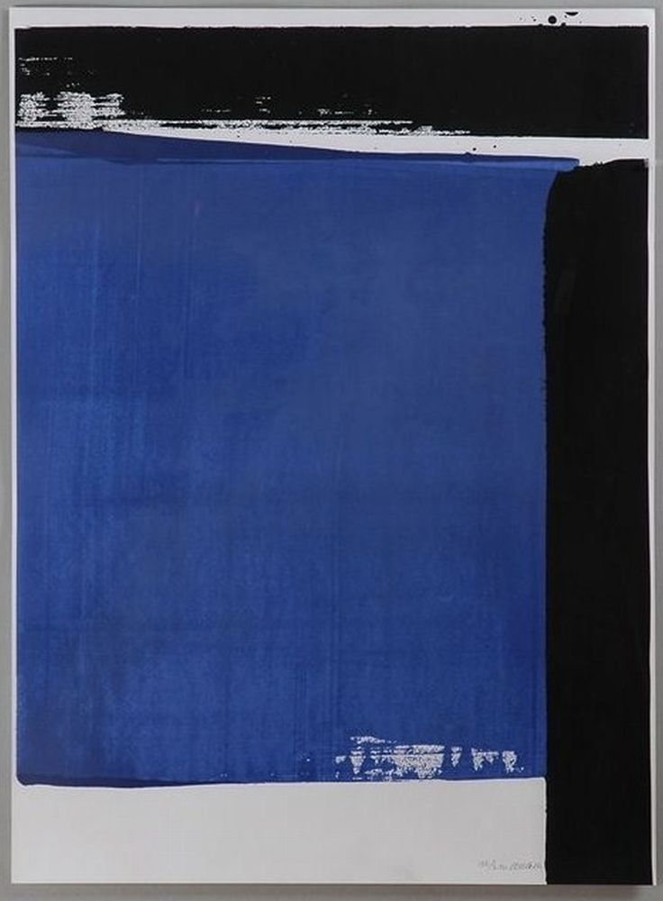 Pierre Soulages - Serigraphie No 16