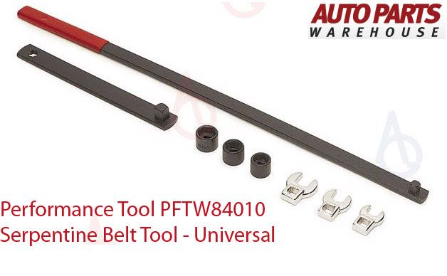 Auto Parts Warehouse Deals – Take Performance Tool PFTW84010 Serpentine Belt Tool – Universal for 23.97 and use Auto Parts Warehouse Coupon to Get more discounts at Auto Parts.