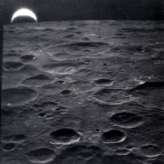 earth rise, apollo 14, 1971