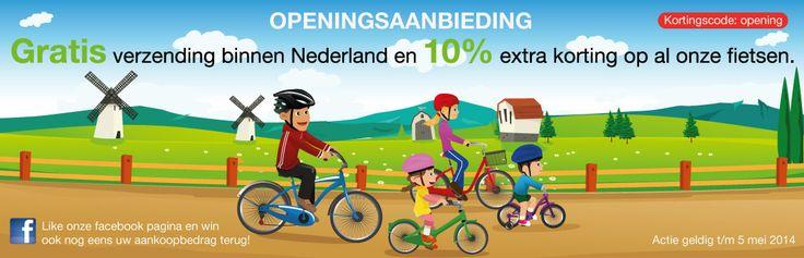 Kinderfietsenkopen.nl is de online shop voor betaalbare kwaltitatief hoogwaardige kinderfietsen van 10 inch tot en met 26 inch. Kenmerkend zijn de thema fietsen van o.a. Disney Cars, Planes en Hello Kitty.