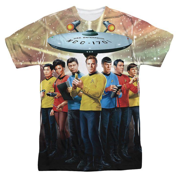 Star Trek TOS Cast Sub T-Shirt
