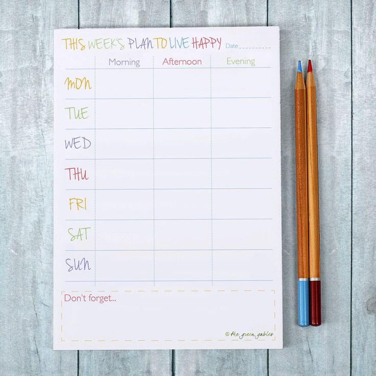 Weekly Planner Note Pad – Weekly Planner – To Do List Notepad – Planner Pad – Happy Living by thegreengables on Etsy https://www.etsy.com/listing/259005117/weekly-planner-note-pad-weekly-planner