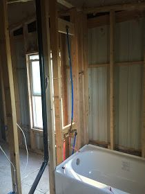 Replacing all plumbing in mobile homes.