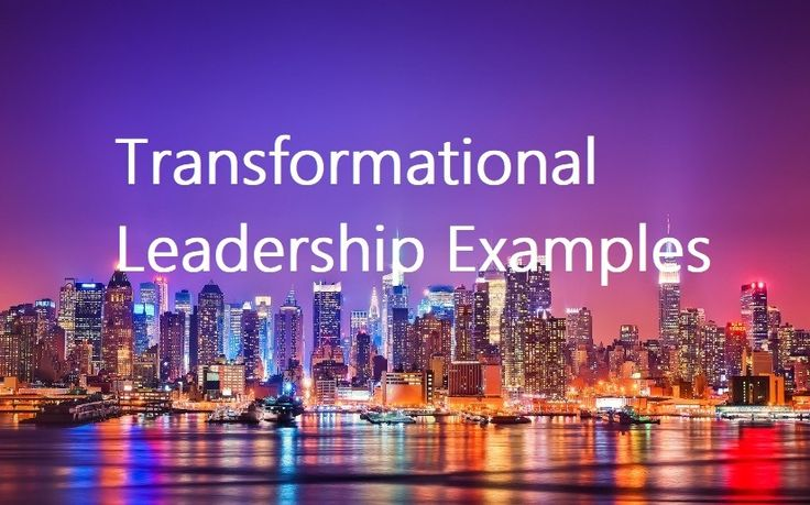 Transformational Leadership Examples If you want respect as a leader, show compassion for your colleagues and work to help them also succeed themselves. Skilled(...)