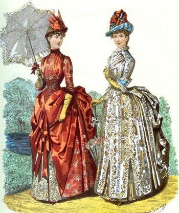 Moda Victoriana / mujer como florero, símbolo de prestigio social del marido
