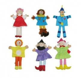 Wizard Of Oz Marionettes Set