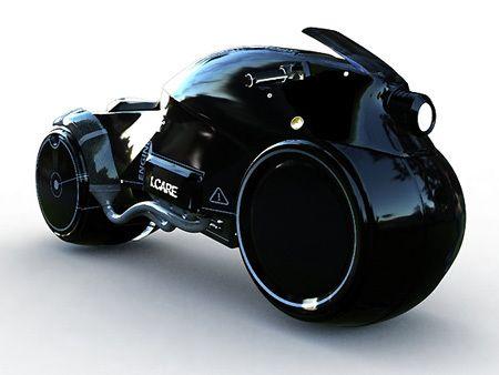 Icare - Honda Bike Concept by Nicolás Aguirre Nankervis, via Behance