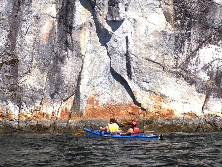 The Rock formation in the Sechelt Inlet and adjacent local Inlets is absolutely stunning. Complimentary of Talaysay Tours