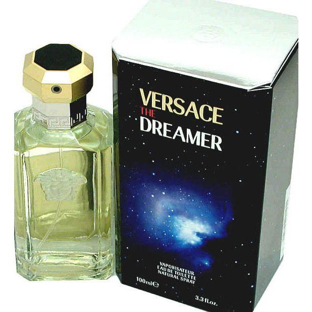 Gianni Versace Dreamer Men's 3.3-ounce Eau de Toilette Spray, Black